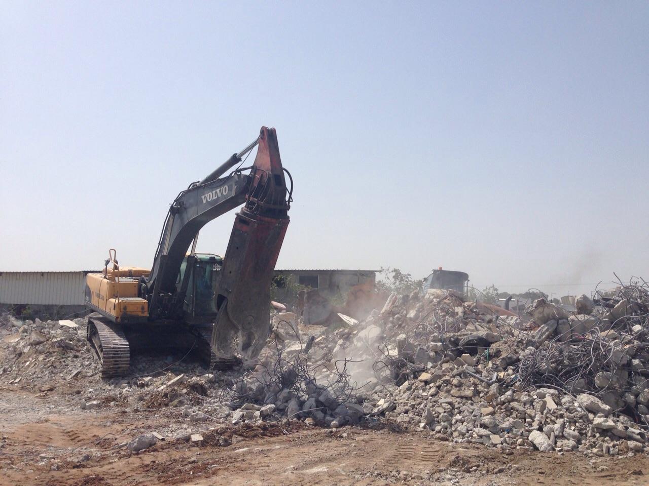 Vernietiging van huizen