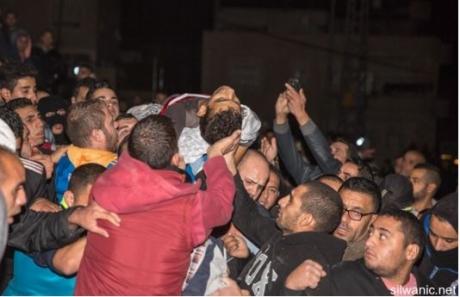 Ayman al-Abbassi begrafenis