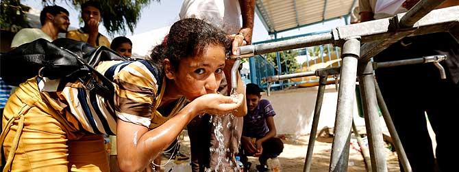 Drinkwater Gaza - Oxfam - Henny